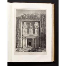 """""""Vue du Kasné, dans son état actuel"""", drawn by Laborde and lithographed by Deroy (page dimensions 555 × 390 mm)"""