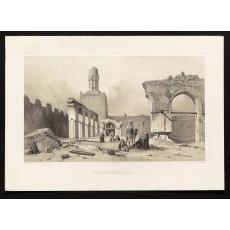 """Plate 14 """"Mosquée El-Hakem, au Kaire"""""""