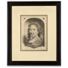 Jan Lutma the Younger, punch print self-portrait