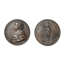 Medal variously attributed to Antonio Galeotti or Giovanni Andrea Lorenzani (diameter 72 mm)