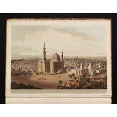 "Plate XXIII: ""View of Grand Cairo"", drawn in February 1806 by Henry Salt, etched by Samuel Rawle and engraved by Daniel Havell, published 1 May 1809"