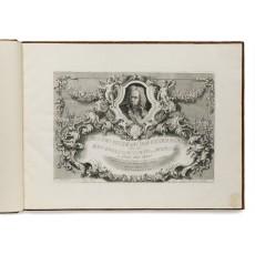 Title-plate; matrice 329 × 479 mm, sheet 490 × 660 mm