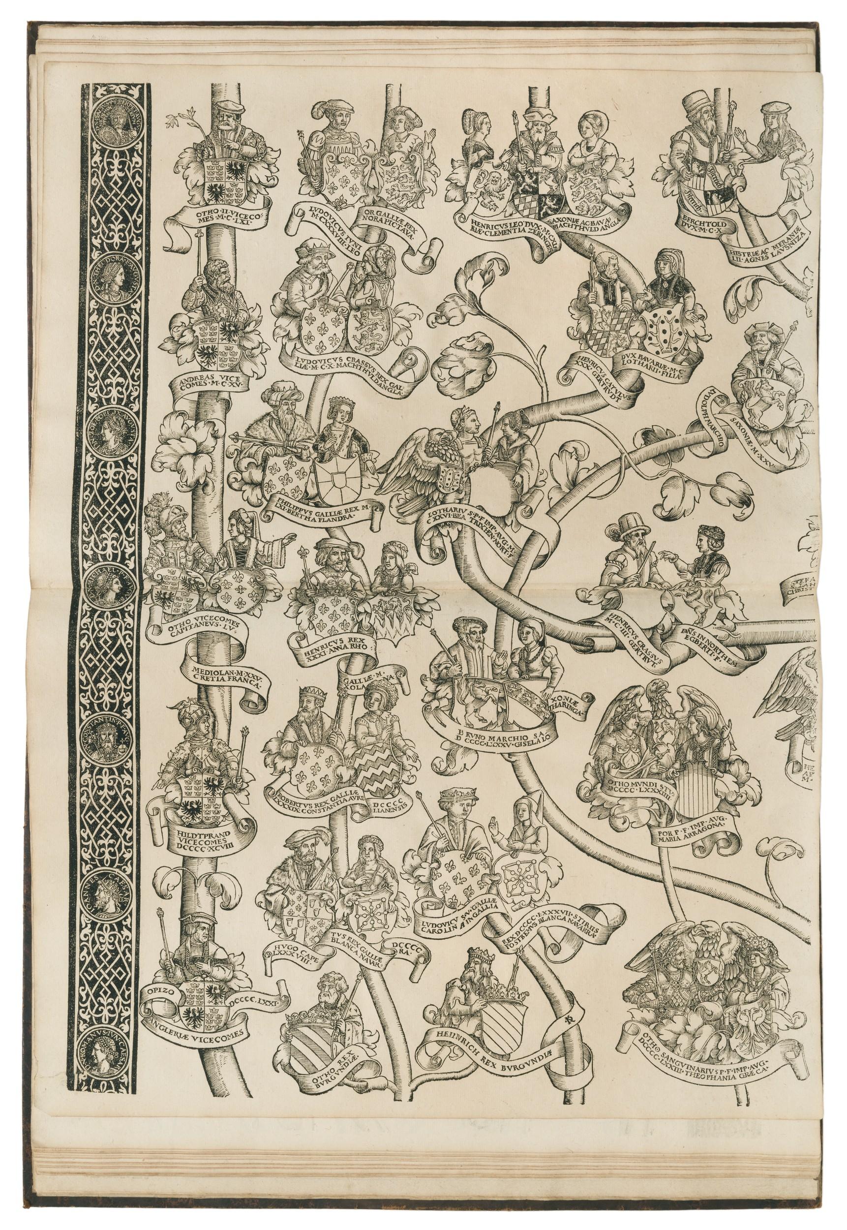 Herold (Johannes Basilius), 1514-1567 - Tabula Palatinorum Heroldi ...
