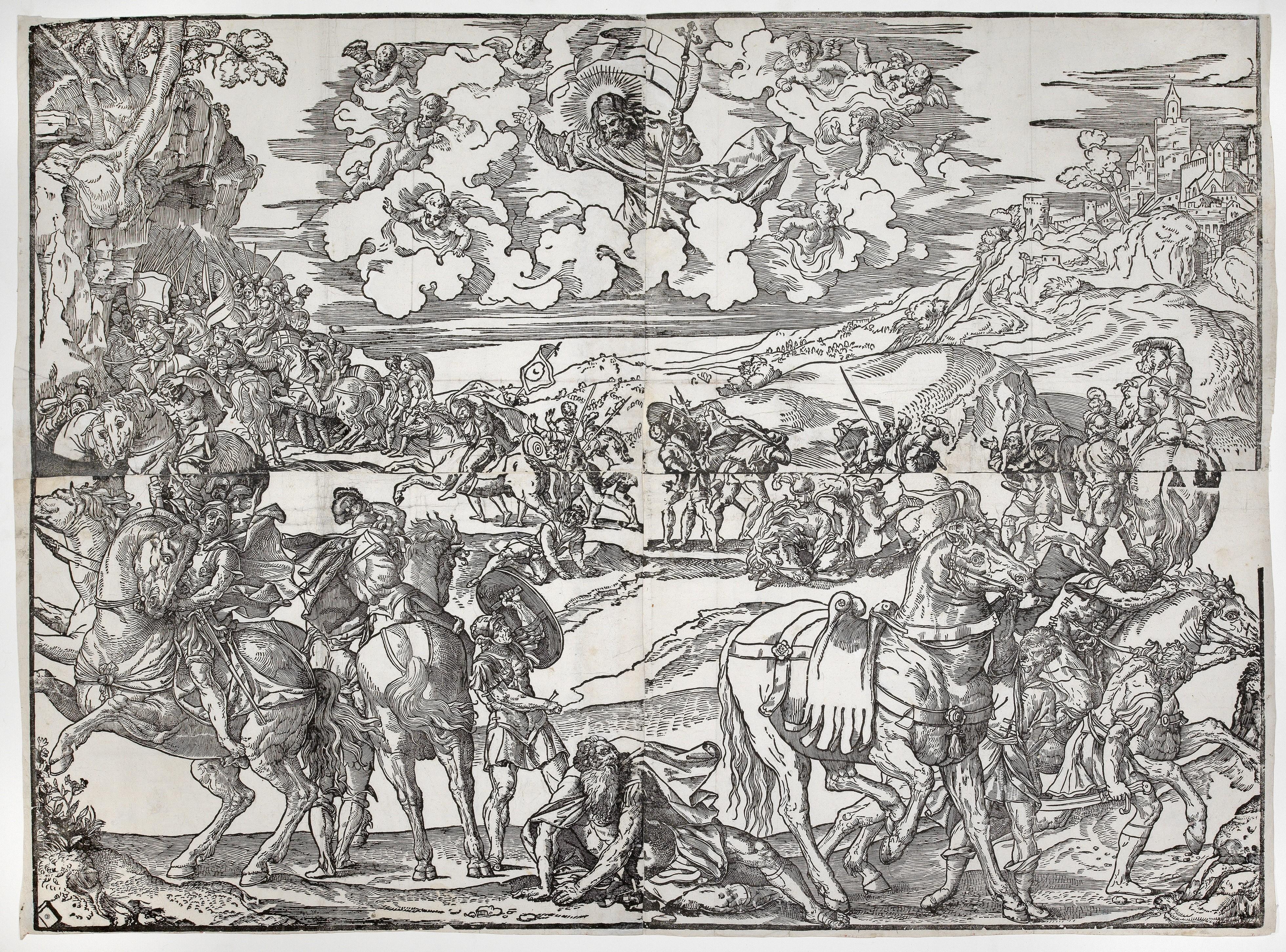 Monogrammist LA (Lucantonio degli Uberti?), active c  1489