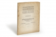 [Stock catalogues, numbered series: 770] Bucheinbände :...
