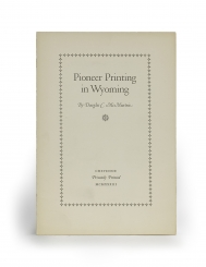 Pioneer Printing in Wyoming