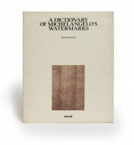 A dictionary of Michelangelo's watermarks (published on...