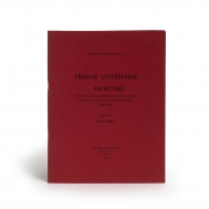 French letterpress printing : a list of French printing...