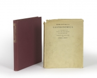 Bibliotheca gastronomica : a catalogue of books and...