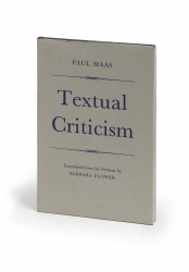 Textual criticism. Translated from the German by Barbara...