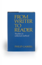 From writer to reader : Studies in editorial method