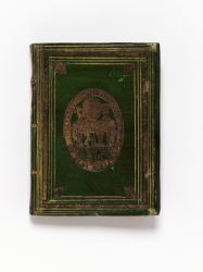 Bound at Prague in green-stained vellum for Ferdinand...