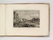 Regatta on the Grand Canal, etching and engraving by...
