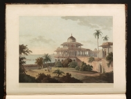 """The Chalees Satoon In The Fort Of Allahabad On The River..."
