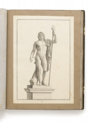 "Drawing 15 ""Nettuno di Cavaceppi"" (sheet 515 × 350 mm), a..."