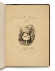 Thackeray's first publication, a volume of caricatures...