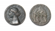 Foundation medal for the Tempio Malatestiano, Rimini