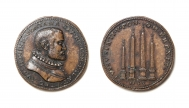 Medal by Domenico Poggini (diameter 40 mm)