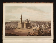 "Plate XXIII: ""View of Grand Cairo"", drawn in February..."