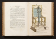 A conjectural restoration of the throne of Apollo at...